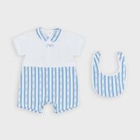 Textiel Jongens Jumpsuites / Tuinbroeken Emporio Armani Adam Blauw