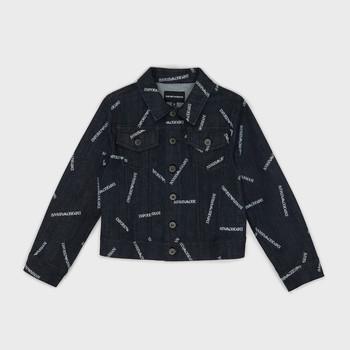 Textiel Jongens Spijker jassen Emporio Armani Angelo Blauw