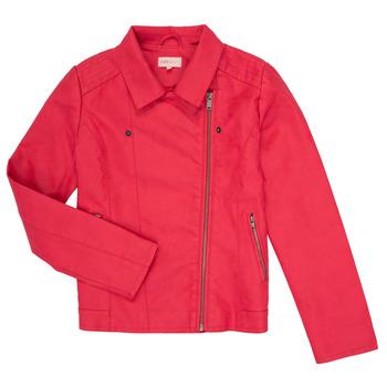 Textiel Meisjes Leren jas / kunstleren jas Only KONCARLA Roze