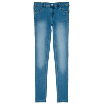 Textiel Meisjes Skinny jeans Name it NKF POLLY DNMTASIS Blauw