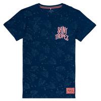 Textiel Meisjes T-shirts korte mouwen Name it NKMFARRAN Marine