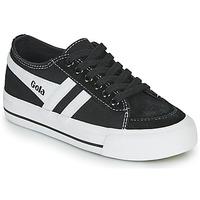 Schoenen Kinderen Lage sneakers Gola QUOTA II Zwart / Wit
