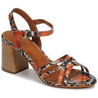 Schoenen Dames Sandalen / Open schoenen André BRYNN Oranje