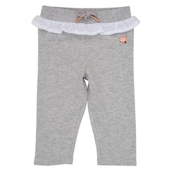 Textiel Meisjes 5 zakken broeken Carrément Beau LILA Grijs