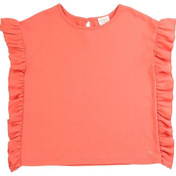 Textiel Meisjes T-shirts korte mouwen Carrément Beau LEANA Roze