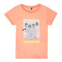 Textiel Meisjes T-shirts korte mouwen 3 Pommes LEA Oranje