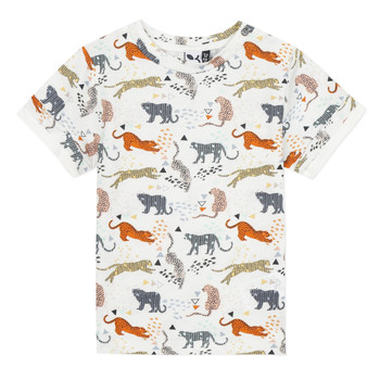 Textiel Jongens T-shirts korte mouwen 3 Pommes ARIANE Oranje