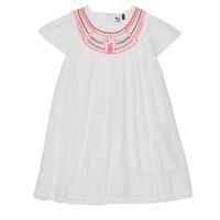 Textiel Meisjes Korte jurken 3 Pommes LAURA Wit