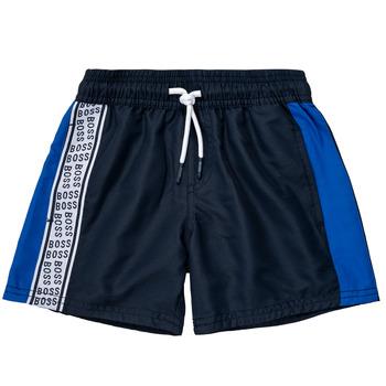 Textiel Jongens Korte broeken / Bermuda's BOSS MOZEL Blauw