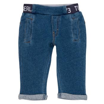 Textiel Jongens 5 zakken broeken Timberland VALENTIN Blauw