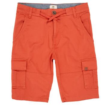 Textiel Jongens Korte broeken / Bermuda's Timberland STANISLAS Rood