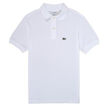 Textiel Jongens Polo's korte mouwen Lacoste ELYAN Wit