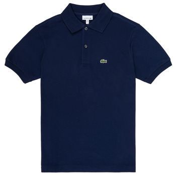 Textiel Jongens Polo's korte mouwen Lacoste LOLLA Marine