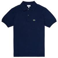 Textiel Jongens Polo's korte mouwen Lacoste CYRINNE Marine