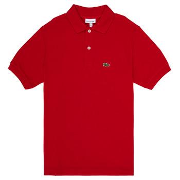 Textiel Jongens Polo's korte mouwen Lacoste ANAICK Rood