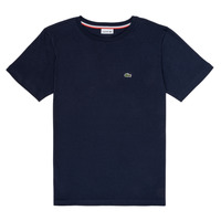 Textiel Jongens T-shirts korte mouwen Lacoste KETLEEN Marine