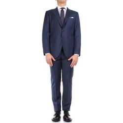 Textiel Heren Kostuums Kiton 0302S15/25 Blue
