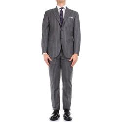 Textiel Heren Kostuums Kiton 0252S08/2 Grey