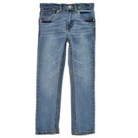 Textiel Jongens Skinny Jeans Levi's 511 SKINNY FIT Blauw / Medium
