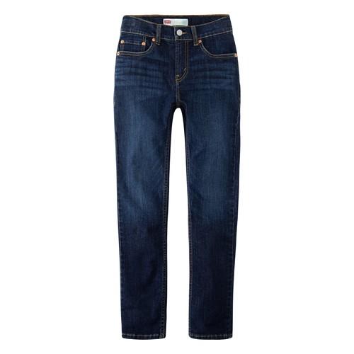 Textiel Jongens Skinny jeans Levi's 512 SLIM TAPER Blauw
