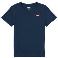 Textiel Jongens T-shirts korte mouwen Levi's BATWING CHEST HIT Marine