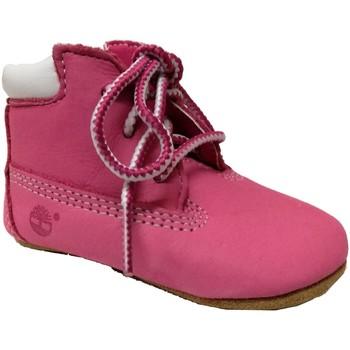 Schoenen Meisjes Sloffen Timberland Crib bootie with hat Roze