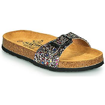 Schoenen Meisjes Leren slippers Plakton BOM Multicolour