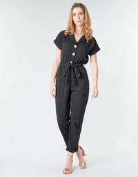 Textiel Dames Jumpsuites / Tuinbroeken Betty London MYRTIL Zwart