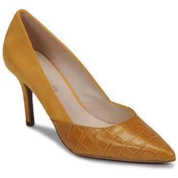 Schoenen Dames pumps Fericelli MADIA Geel