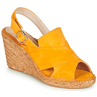 Schoenen Dames Sandalen / Open schoenen Fericelli MARIE Geel