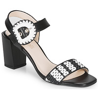 Schoenen Dames Sandalen / Open schoenen Fericelli MAIRA Zwart / Et / Wit
