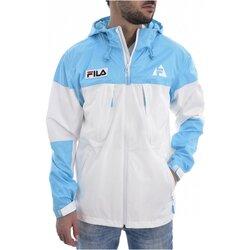 Textiel Wind jackets Fila 687122 HOLT SHELL Wit