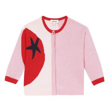 Textiel Meisjes Vesten / Cardigans Catimini LIANA Roze