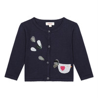 Textiel Meisjes Vesten / Cardigans Catimini LOUNA Blauw