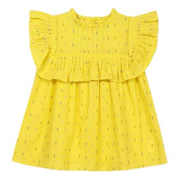 Textiel Meisjes Tops / Blousjes Catimini MAINA Geel