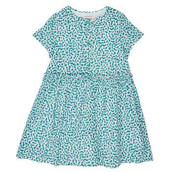 Textiel Meisjes Korte jurken Catimini ELLA Groen / Blauw