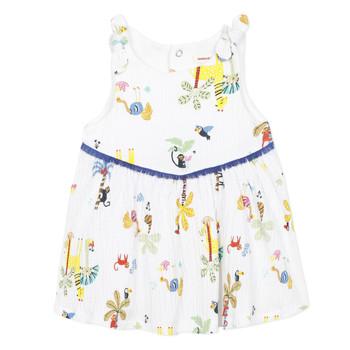 Textiel Meisjes Korte jurken Catimini BIXENTE Wit