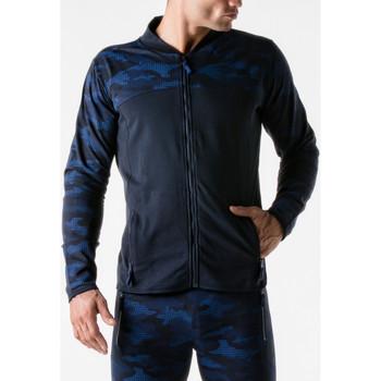 Textiel Heren Trainings jassen Code 22 Urban Camo Sport Jasje marine Code22 Blauw Marine