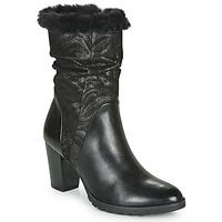 Schoenen Dames Hoge laarzen Caprice LOTIMA Zwart