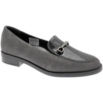 Schoenen Dames Mocassins Calzaturificio Loren LOX5907gr grigio
