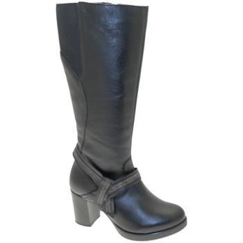 Schoenen Dames Hoge laarzen Calzaturificio Loren LOC3860ne nero