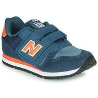 Schoenen Kinderen Lage sneakers New Balance YV373KN-M Blauw / Rood