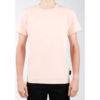 Textiel Heren T-shirts korte mouwen DC Shoes DC SEDYKT03376-MDJ0 orange