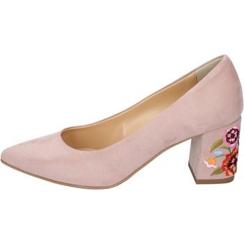 Schoenen Dames pumps Olga Rubini decollete camoscio sintetico Rosa