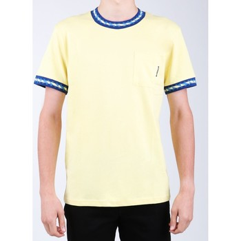 Textiel Heren T-shirts korte mouwen DC Shoes DC SEDYKT03372-YZL0 yellow