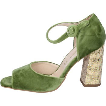 Schoenen Dames Sandalen / Open schoenen Olga Rubini sandali velluto Verde