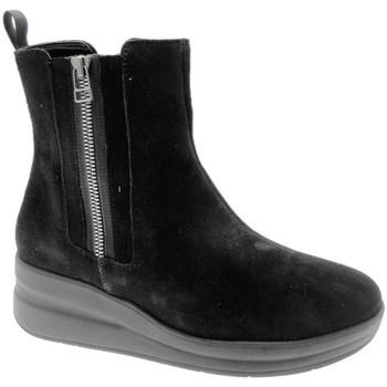 Schoenen Dames Laarzen Melluso MWR25611ne nero
