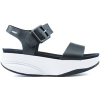 Schoenen Dames Sandalen / Open schoenen Mbt MANNI SANDALS 2 BLACK NAPPA