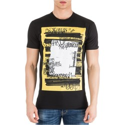 Textiel Heren T-shirts korte mouwen Dsquared S71GD0741 Zwart
