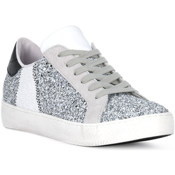 Schoenen Heren Allround At Go GO GLITTER BIANCO Bianco